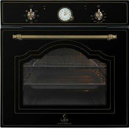 Духовые шкафы - Встраиваемый духовой шкаф LEX EDM 6070 C BL, 0