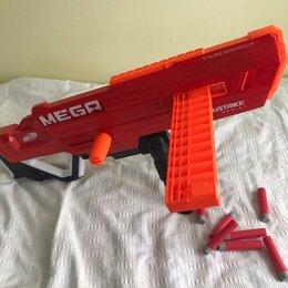 Игрушечное оружие и бластеры - Бластер nerf мега аккустрайк фандерхок (e0440), 0