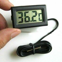 Термометры и таймеры - Цифровой термометр с выносным датчиком ~ 1 метр, 0