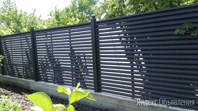 Забор жалюзи в г. Ижевск по цене 109₽ - Заборы, ворота и элементы, фото 0