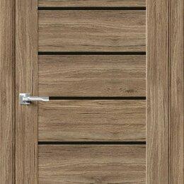 Входные двери - Межкомнатная дверь с экошпоном Браво-22 Original Oak   Black Star, 0