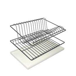 Подставки и держатели - Сушка для посуды с поддоном цинк, 0