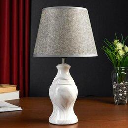 Фильтры для вытяжек - Настольная лампа 32153/1 E14 40Вт белый 22х22х39 см, 0