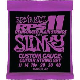 Струны - 2242 Ernie Ball Power Slinky RPS11 никель 11-48. Доставка, 0