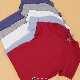 Футболки и майки - Комплект из 5 хлопковых мужских футболок, 0