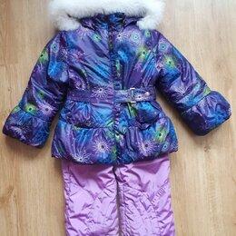 Комплекты верхней одежды - Костюм зимний для девочки р-р 110 (+6), 0