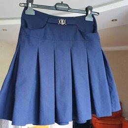 Комплекты и форма - Школьная юбка синяя 158, 0