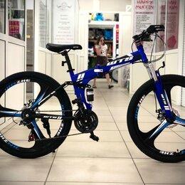 Велосипеды - Горный велосипед на литых дисках, 0