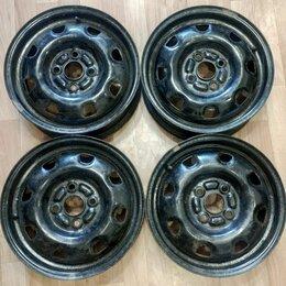 Шины, диски и комплектующие - Диски штампованные оригинальные Hyundai R14, 0