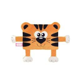 Игрушки - Мягкая игрушка-грелка 'Тигр Малевич', 12 см, с вишневыми косточками, 0