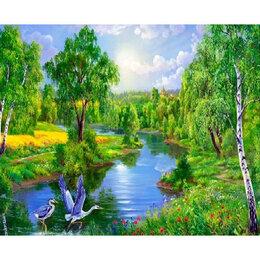 Новогодний декор и аксессуары - Журавли в лесу Артикул : GX 34490, 0
