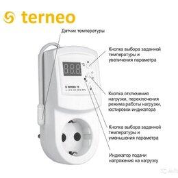 Электроустановочные изделия - Терморегулятор розетка, 0