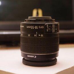 Объективы - фотообъектив Canon EF-S 18-55 IS II, 0