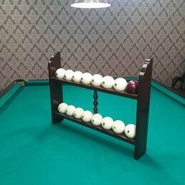 Мебель для бильярдной - Полка под бильярдные шары, 0