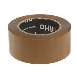 Канцелярские принадлежности - Клейкая лента упаковочная 48ммх145м PROFITTO темная (6 шт) (комплект из 5 шт.), 0