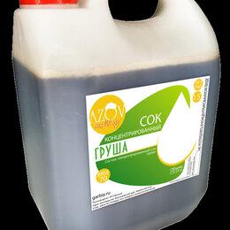 Ингредиенты для приготовления напитков - Концентрированный сок Груша 5кг., 0