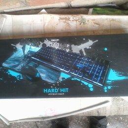 Клавиатуры - Игровая usb клавиатура Dexp Hardhit с подсветкой, 0
