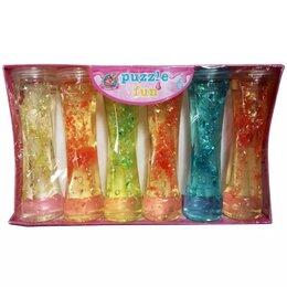 Игрушки-антистресс - Слайм Rainbow crystal mud Magic slime 1/6, 0