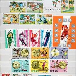 Марки - Спортивные марки 1960-1980гг., 0