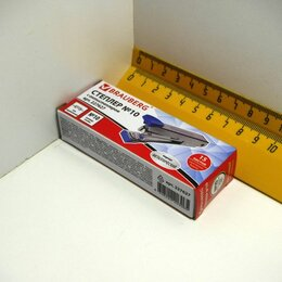 Гвоздескобозабивные пистолеты и степлеры - СТЕПЛЕР №10 Brauberg 227627 метал, 0