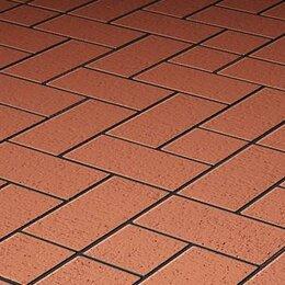Тротуарная плитка, бордюр - Клинкер тротуарный, Керамейя, БрукКерам Классика Рубин, 0
