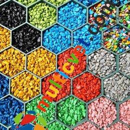 Садовые дорожки и покрытия - Щебень цветной декоративный, 0