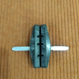 Тормоза - Тормозные колодки шлицевые, 0