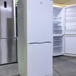 Холодильники - Холодильник indesit бу низкий, 0