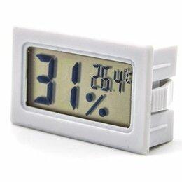 Метеостанции, термометры, барометры - Термометр-гигрометр электронный HT-2  4,5*3см 1/двести, 0