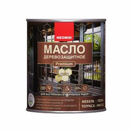 Продукты - Неомид Масло деревозащитное Premium (2л) Орех, 0
