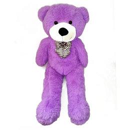 Коляски - Медведь Чери фиолетовый с длинными ногами, бант в, 0