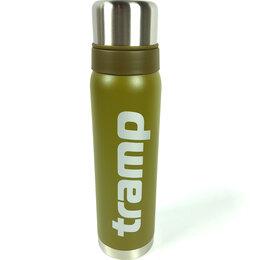 Термосы и термокружки - Термос 0,9 л Tramp оливковый (TRC-027), 0