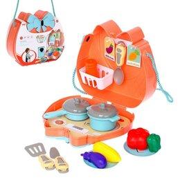Наборы для пикника - Набор посуды для пикника в сумочке «На природу» с продуктами, 0