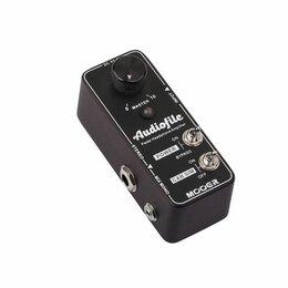 Звуковые карты - Mooer Audiofile педальный усилитель для наушников со спикерсимулятором, 0