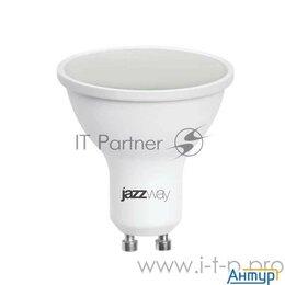 Лампочки - Лампа светодиодная Pled-sp 7Вт 3000К тепл. бел. Gu10 520лм 230В Jazzway 1033550, 0