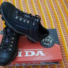 Ботинки - Треккинговые ботинки пр-во Mida,кожа,р.40 ru, 0