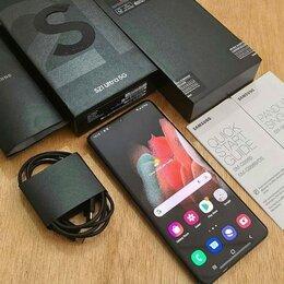 Мобильные телефоны - Самсунг галакси s21 ультра чёрный реплика , 0
