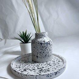 Вазы - Набор сканди ваза и поддон, 0