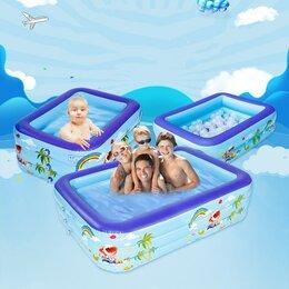 Средства для купания - Надувной бассейн Мои морские друзья 210х135х60 см, 0