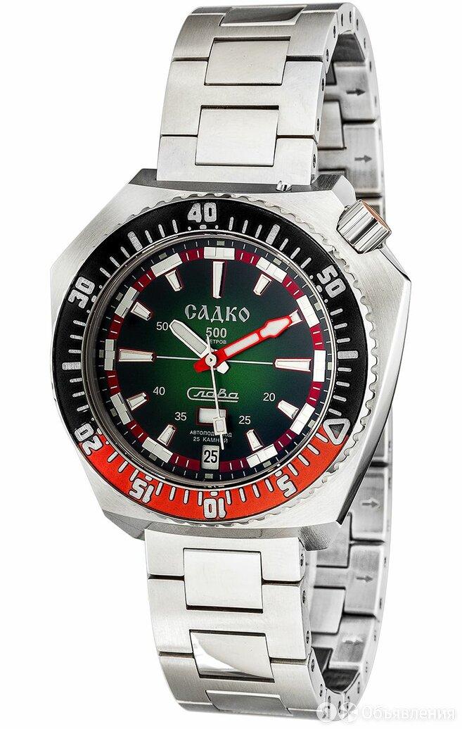 Часы наручные Слава механические Садко 5000169/100-2427 по цене 86200₽ - Наручные часы, фото 0