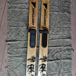 Аксессуары и комплектующие - Охотничьи лыжи охотник 1650*150, 0