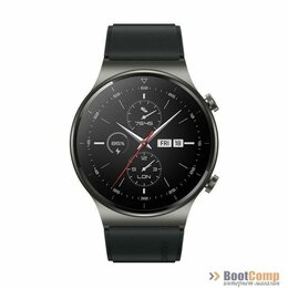 Умные часы и браслеты - Смарт часы HUAWEI WATCH GT 2 Pro Vidar-B19S Night Black, 0