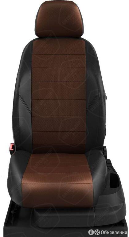 Чехлы на сидения Skoda Yeti 2010 2020 Черный/Шоколад (арт.SK23-0303-EC11) по цене 7190₽ - Аксессуары для салона, фото 0