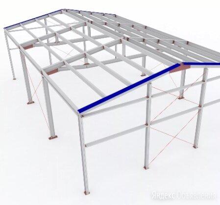 Каркасы стальные металлоконструкции по цене 1000₽ - Готовые строения, фото 0