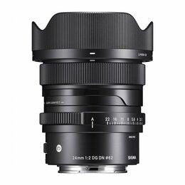 Объективы -  Sigma Объектив Sigma AF 24mm F/2.0 DG DN Contemporary Sony E, 0