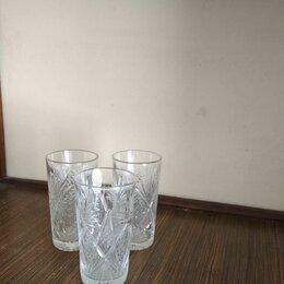 Бокалы и стаканы - Набор хрустальных стаканов (3 шт.), 0