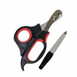 Инструменты парикмахера и сумки для инструмента - Ножницы когтерезы+пилочка М204-В , 0