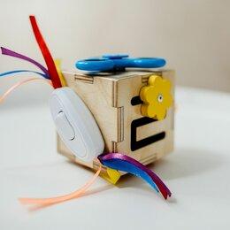 Развивающие игрушки - Бизикубик - бизиборд, 0