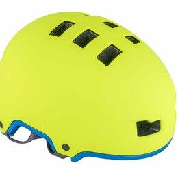 Защита и экипировка - Велошлем AUTHOR Lynx X9 192 Yell-Neon/Blue-Neon (Размер: 54-58см), 0