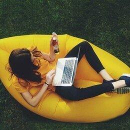 Походная мебель - Надувной диван - гамак желтый 170-180 х 70, 0
